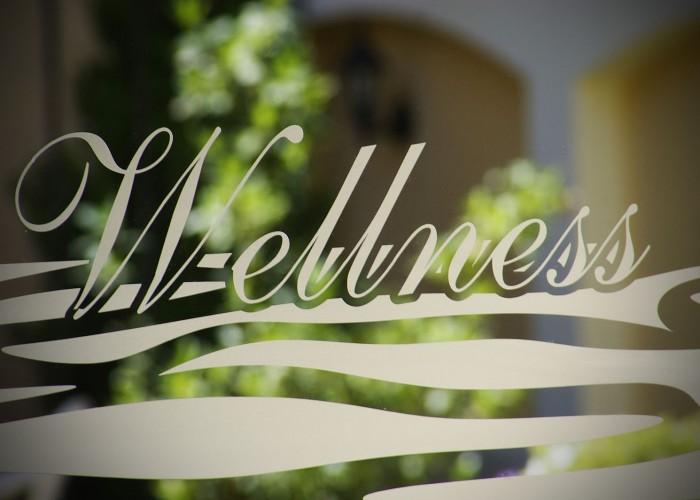 Wellness részleg