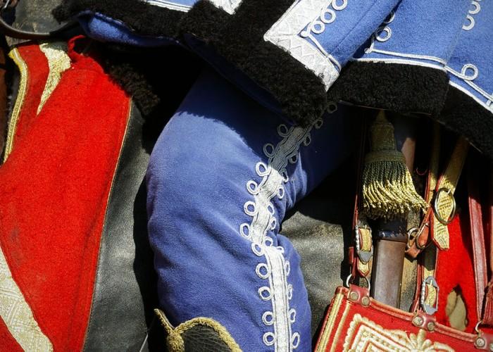 Harkány szüreti fesztivál - lovas tradicionális öltözetben