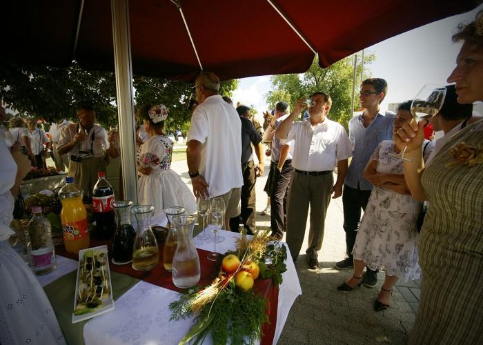 Harkány szüreti fesztivál - fehérbor, vörösbor, rosé kóstoló