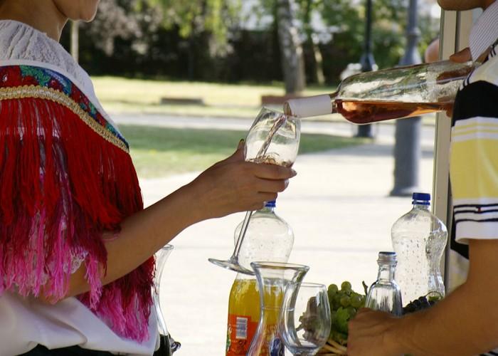 Rosé borok a harkányi szüreti fesztiválon