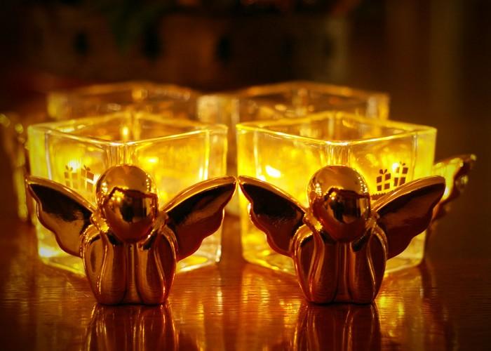 Karácsonyi hangulat és dekoráció - angyalok