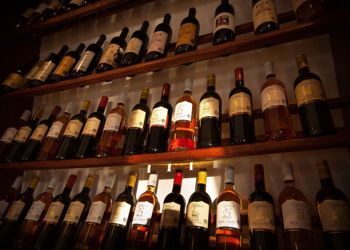 Étterem - villányi borok széles választéka