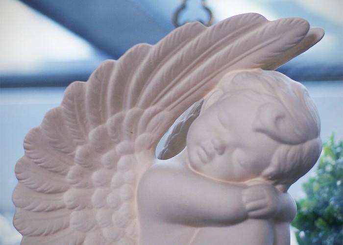 Nyugalom Harkányban, porcelán angyal a Xavinban