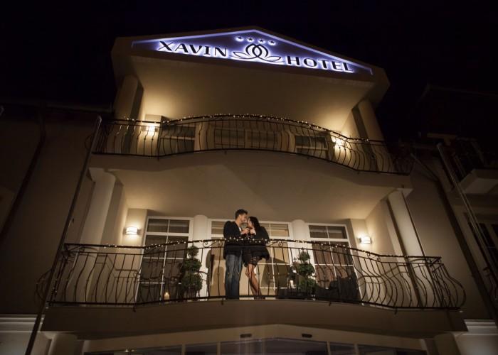 A Xavin hotel főbejárata