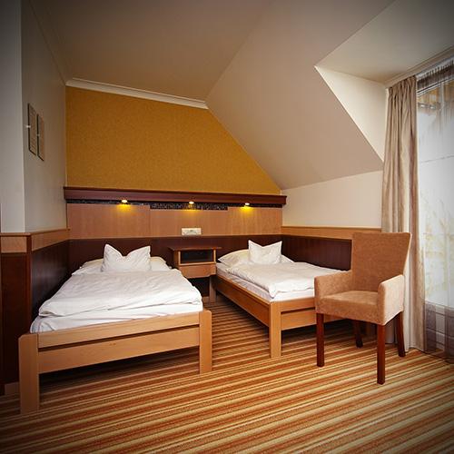 Standard kétágyas szoba - ágyak