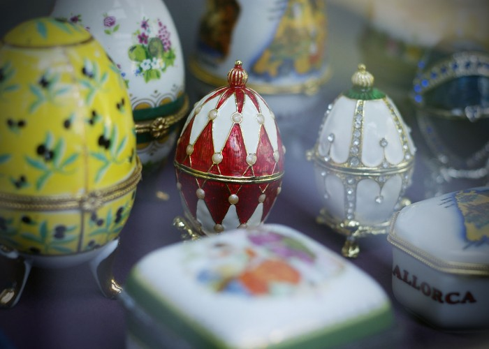 Tavaszi hangulat - Zsolnay