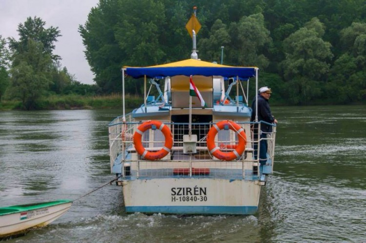 Sétahajózás a Dráván