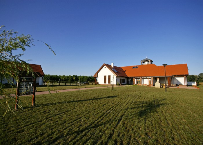 Ős-Dráva Látogatóközpont, főépület