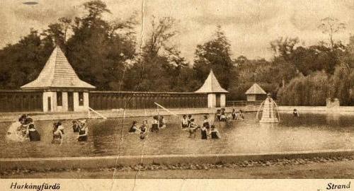 Harkányfürdő az 1900-as évek elején