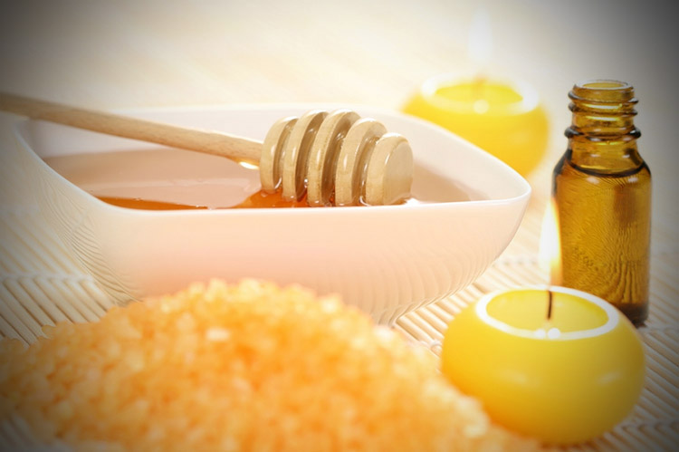 Mézes masszázs
