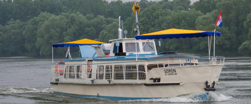 Sétahajó a Dráván